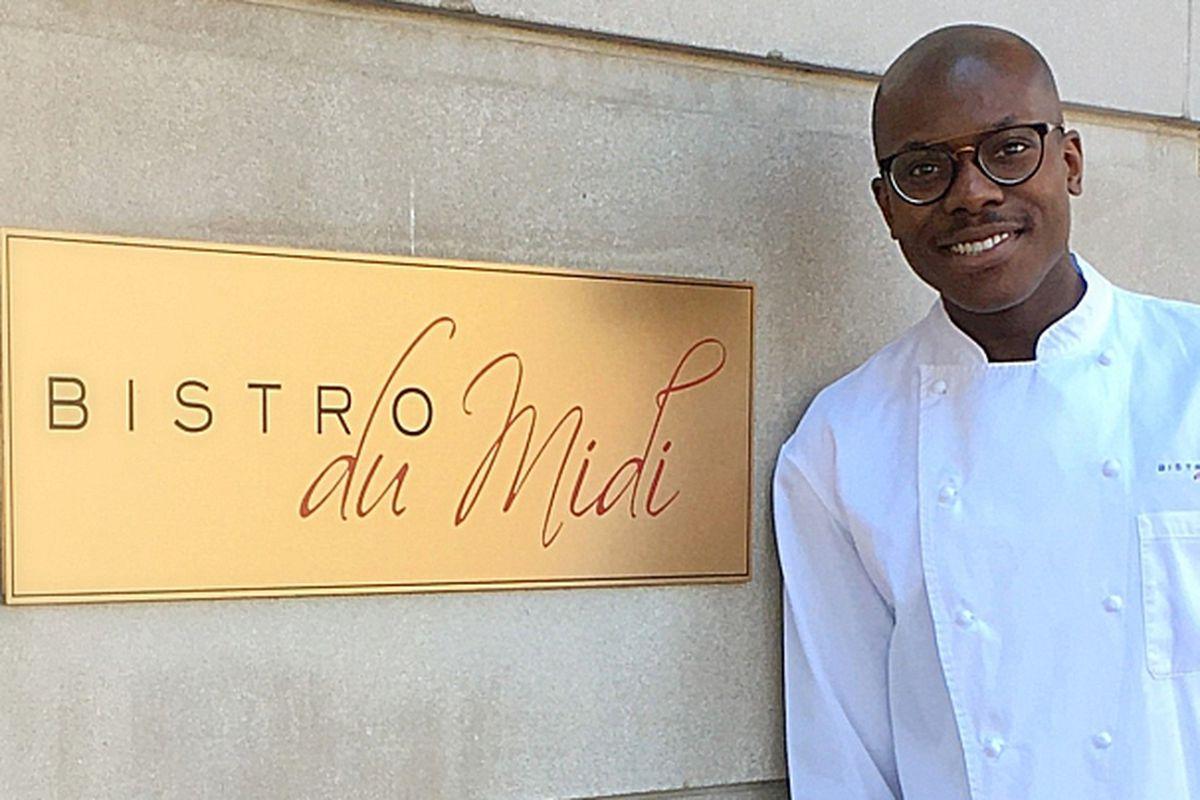Josue Louis, new executive chef at Bistro du Midi