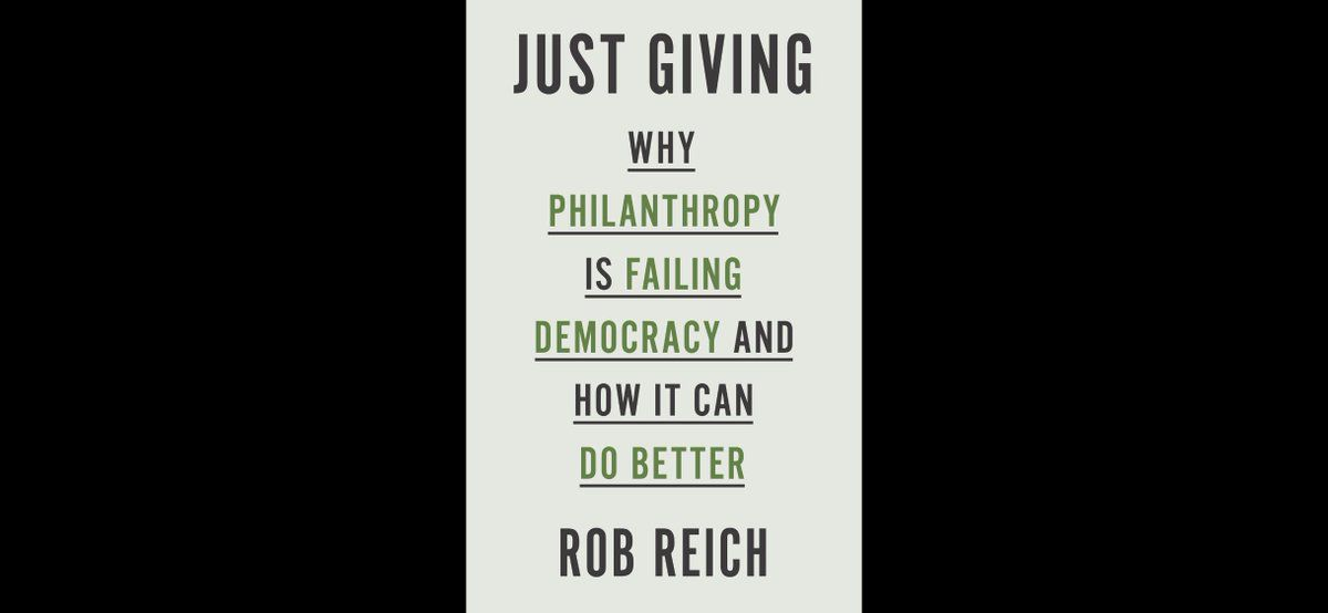 Just Giving by Rob Reich