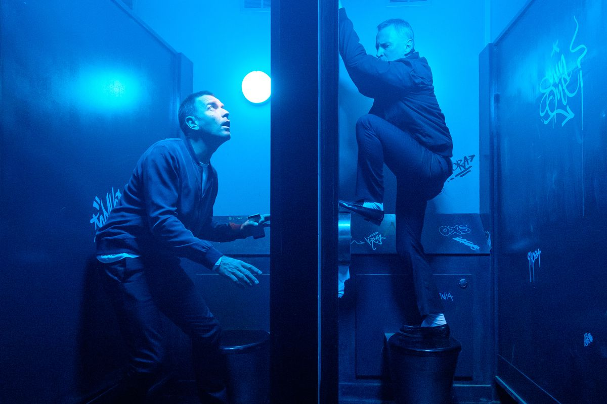 Ewan McGregor and Robert Carlyle in T2 Trainspotting