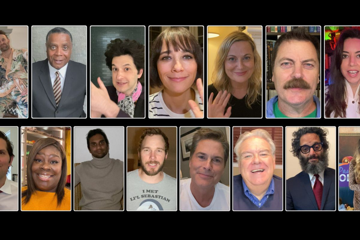 Nearly every major player across the history of Parks and Recreation came back for the reunion special.