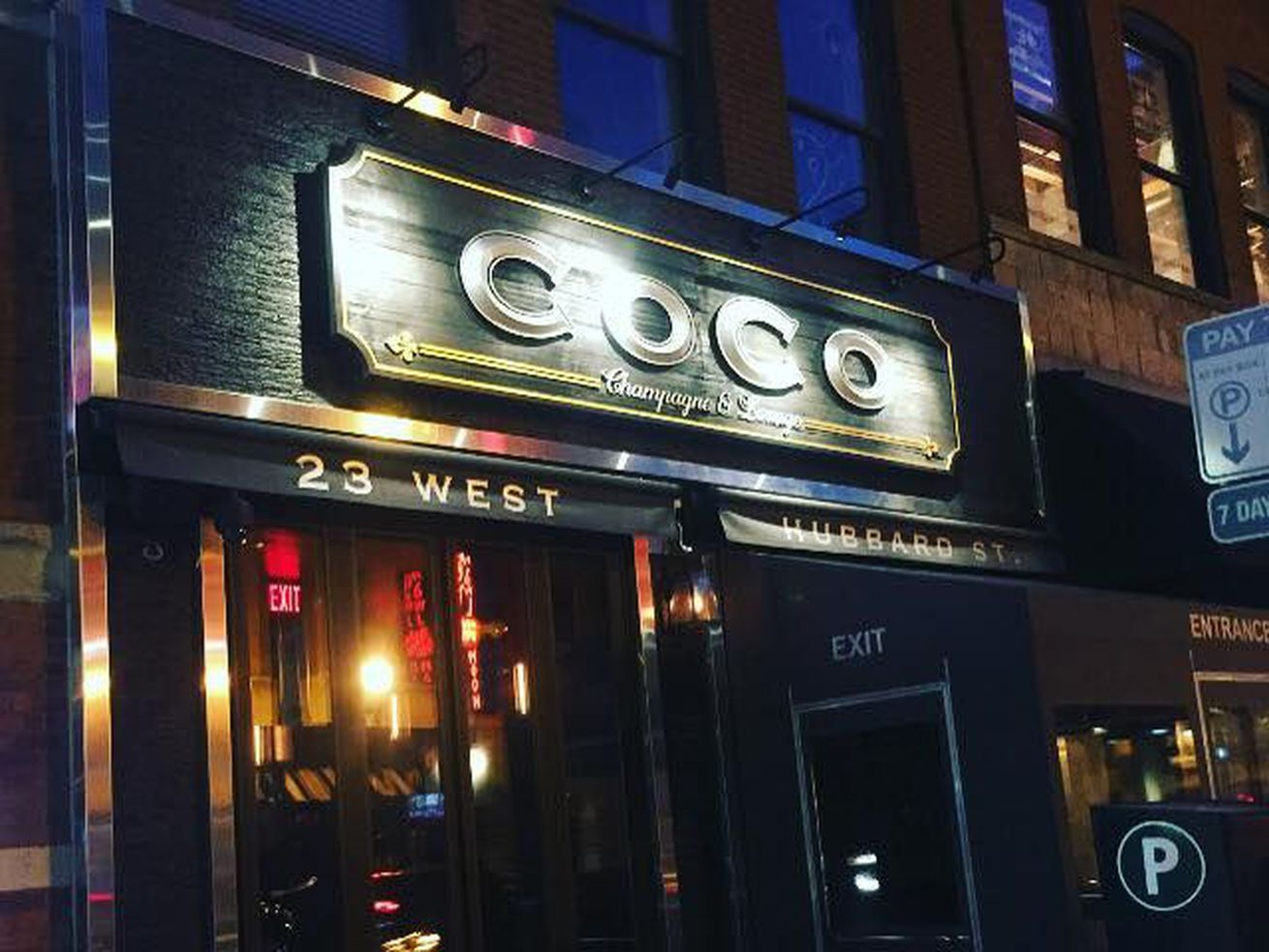 There's a new tenant inside this River North Space.