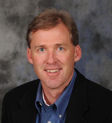 John Creighton, president of St. Vrain school board