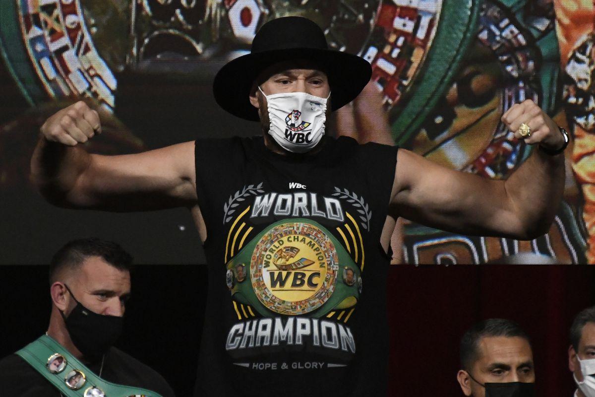 Tyson Fury v Deontay Wilder - Weigh In