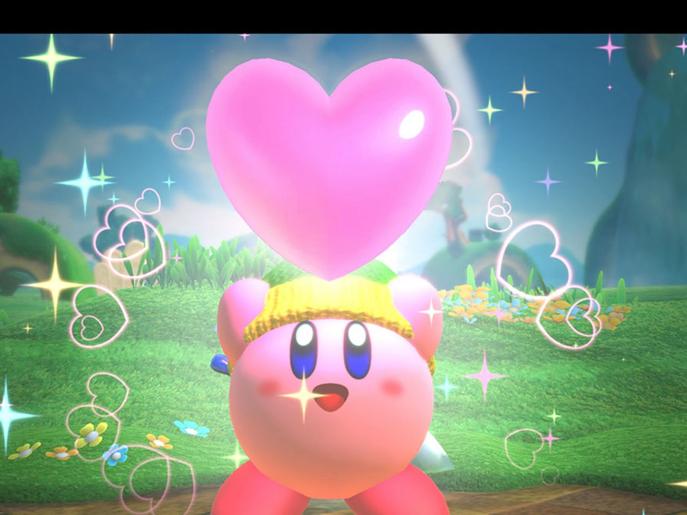 Video Game Review Kirby Star Allies Is A Safe Enjoyable
