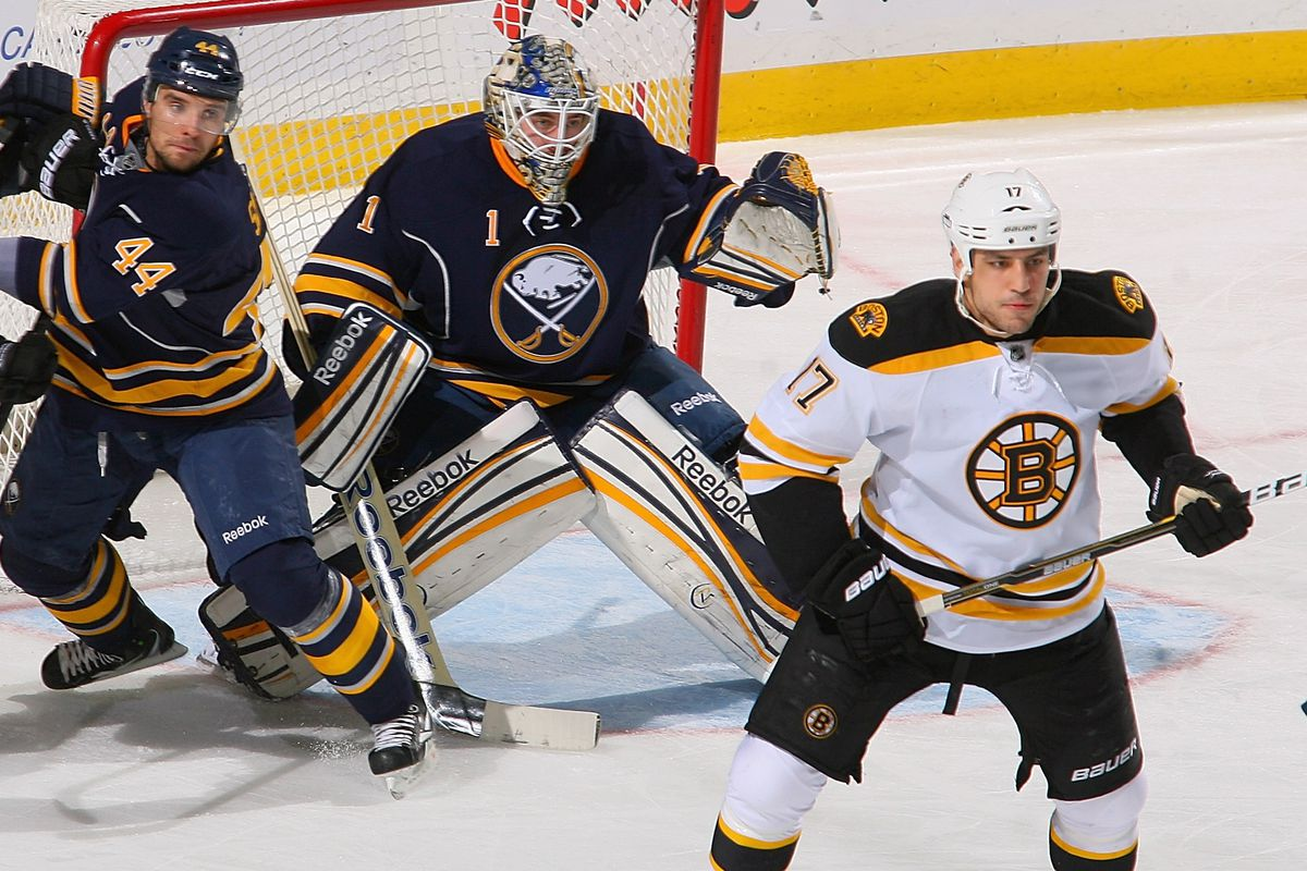 Sekera out, Enroth in, Lucic lurking