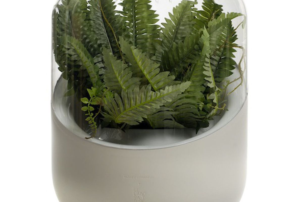"""This Andrea air purifier """"didn't clean the air, and kind of looks like a urinal with a plant in it."""""""