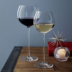 First of all, these <b>Camille Wine Glasses</b> are the same ones glamorized by Olivia Pope in Scandal. That in itself makes these a yes. But they're actually beyond gorgeous and 100% necessary for a night spent on the couch. Get her a set of four to enco
