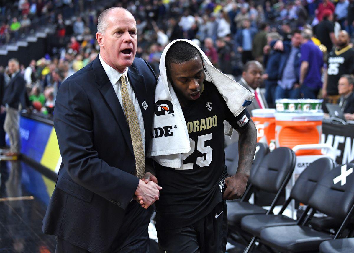 NCAA Basketball: Pac-12 Conference Tournament-Colorado vs Washington