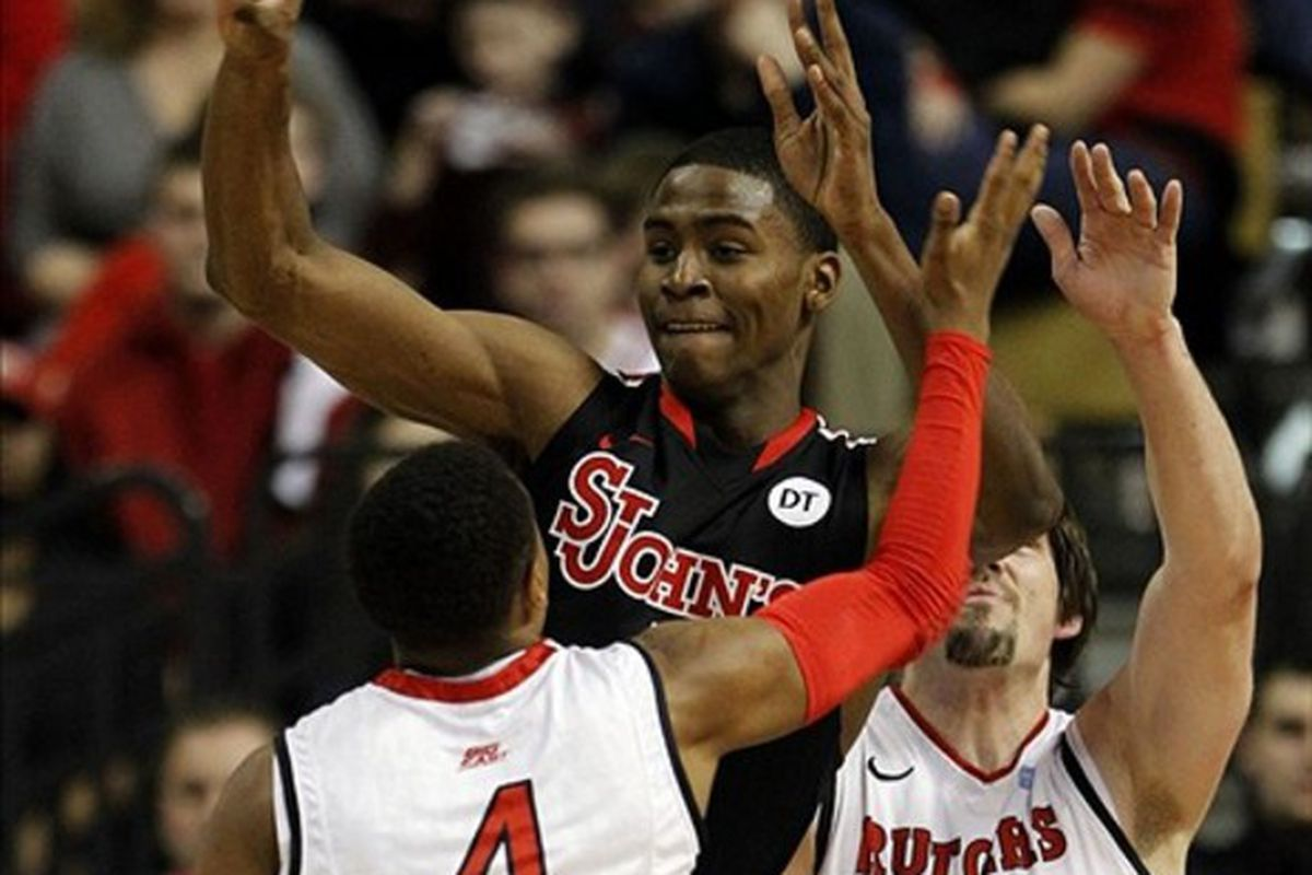 St. John's freshman <strong>Moe Harkless</strong> led the young Red Storm in minutes and rebounds per game in 2011-12.