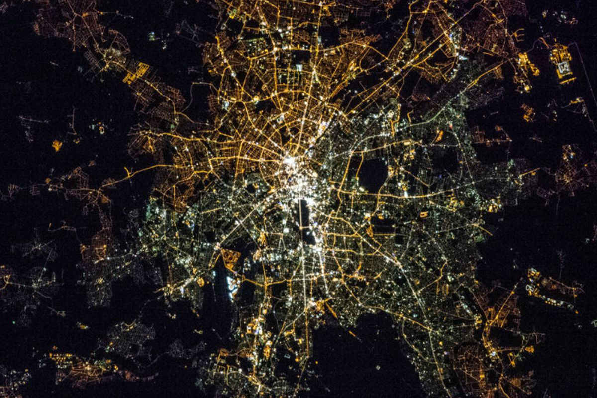 You can learn a lot about cities by how they light up at