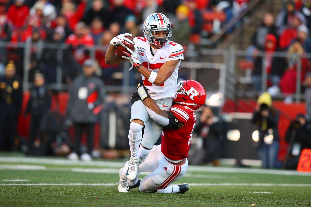 COLLEGE FOOTBALL: NOV 16 Ohio State at Rutgers