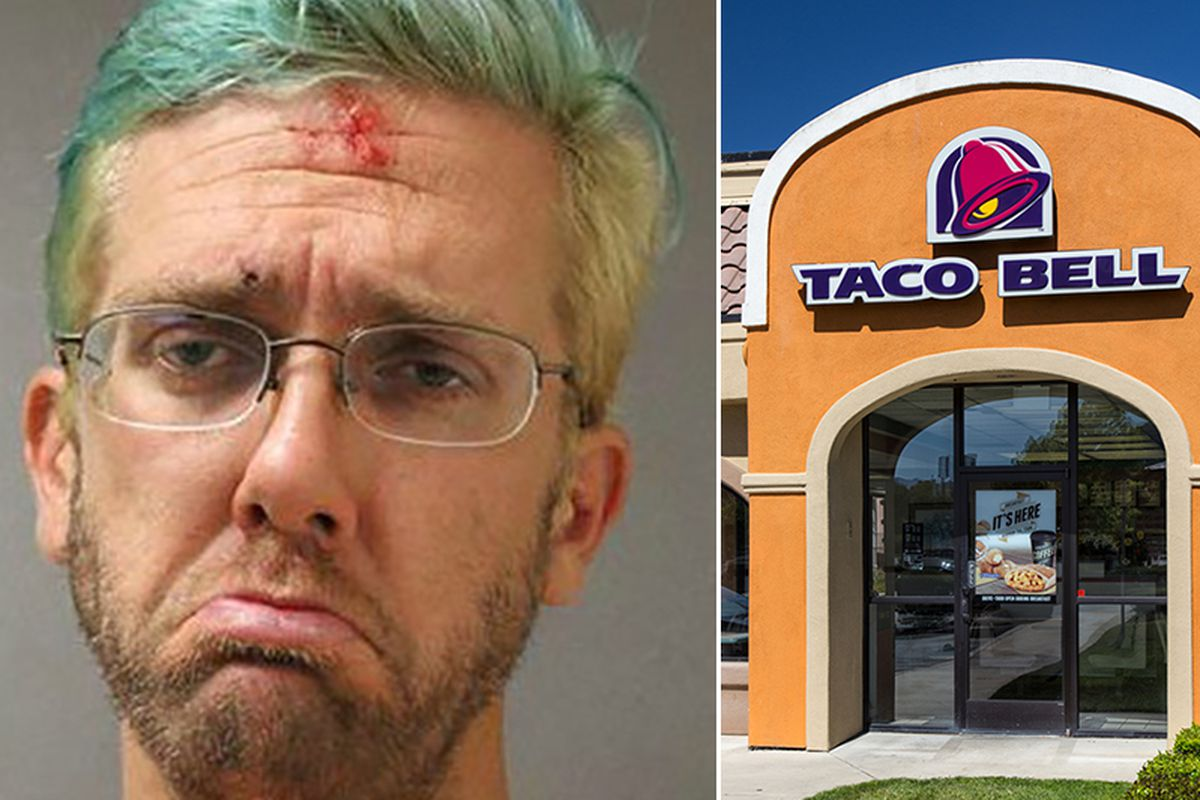 Sad Drunk Man Arrested At Taco Bell Drive Thru Eater