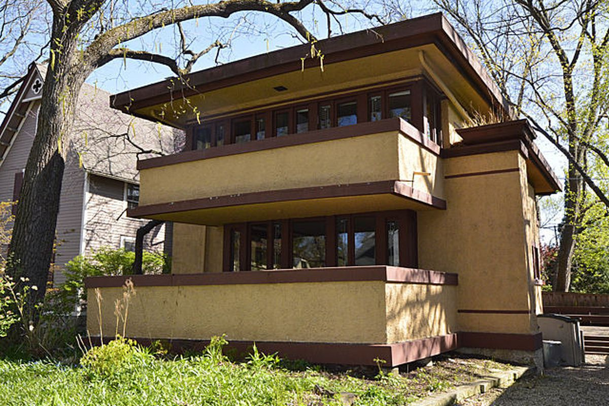 quite nice hot product huge sale Frank Lloyd Wright's Laura Gale House in Oak Park Hits ...