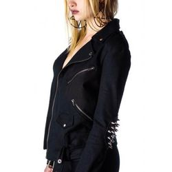 """""""This label is locally-made and designed by Drexel Fashion alums, and the jacket's as bad-ass as it looks."""""""