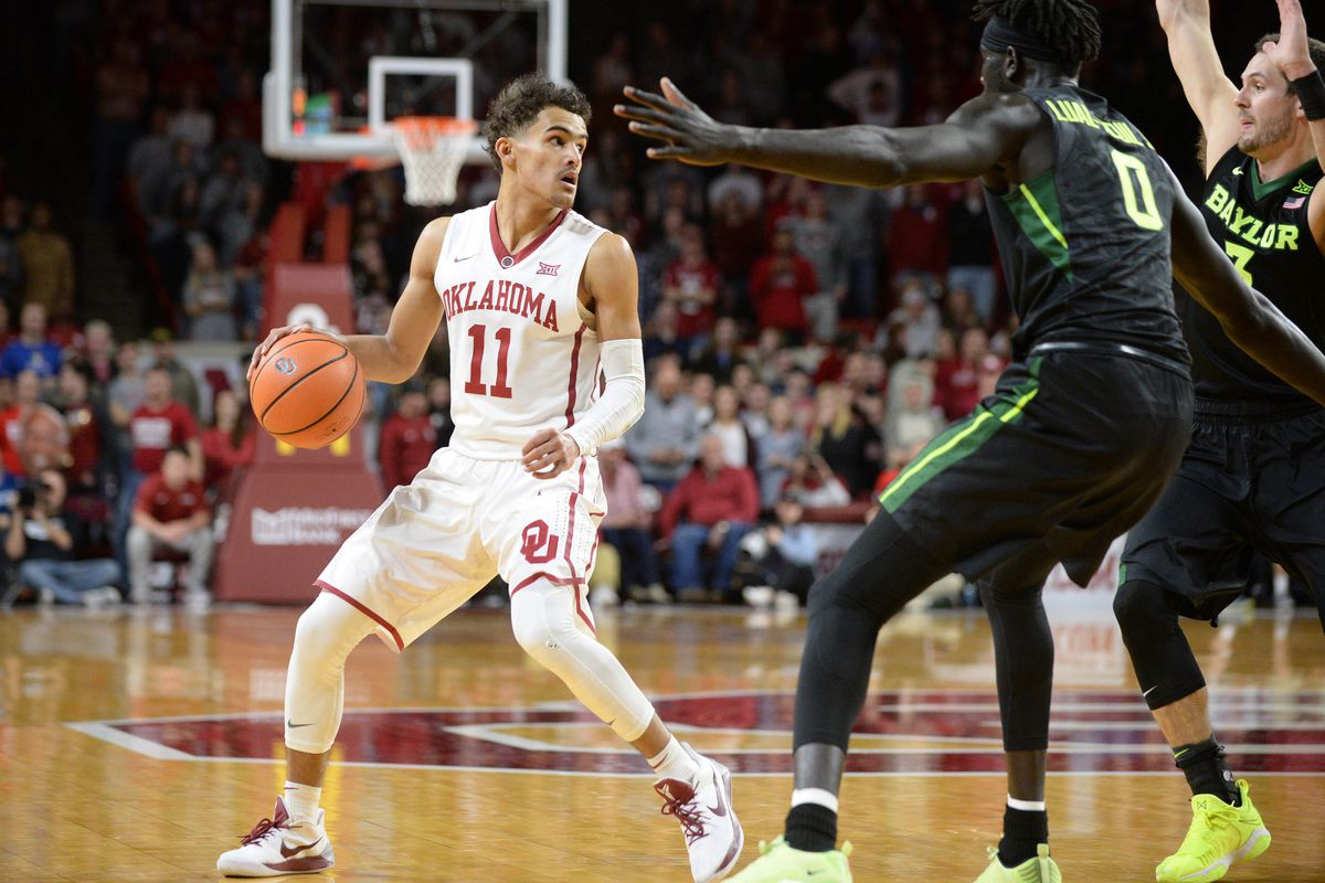 Mark D. Smith-USA TODAY Sports. What a wild evening that was last night! Trae  Young ... d7ddd2780