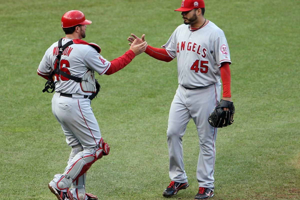 THIS MIGHT HAVE BEEN A FIRST: How many Angels batteries have ever been in NUMERICAL ORDER?!?!?!?!?