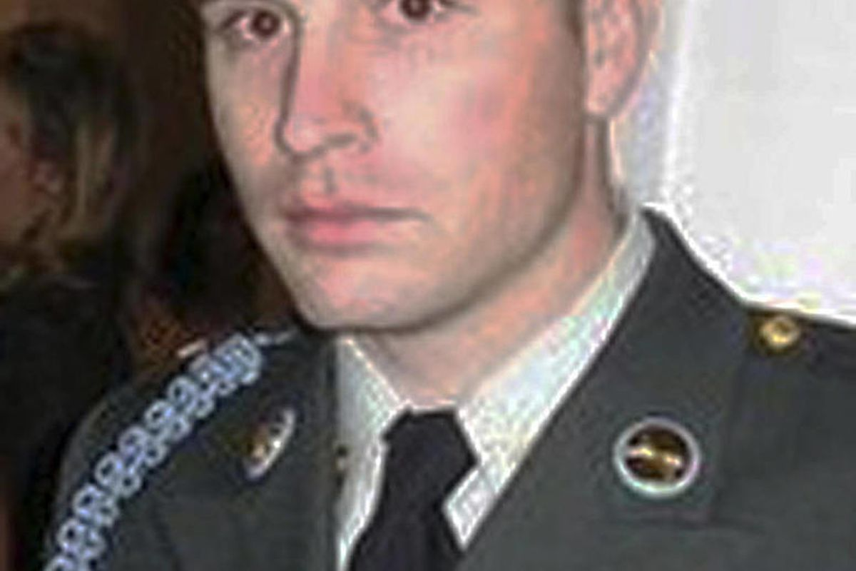 CORRECTS GENDER OF AFGHAN CHILD TO A BOY - This undated photo provided by the Rhode Island National Guard shows, Sgt. Dennis Weichel Jr., of Providence, R.I. Weichel Jr. was struck and killed by an armored vehicle on March 22, 2012, while trying to save a