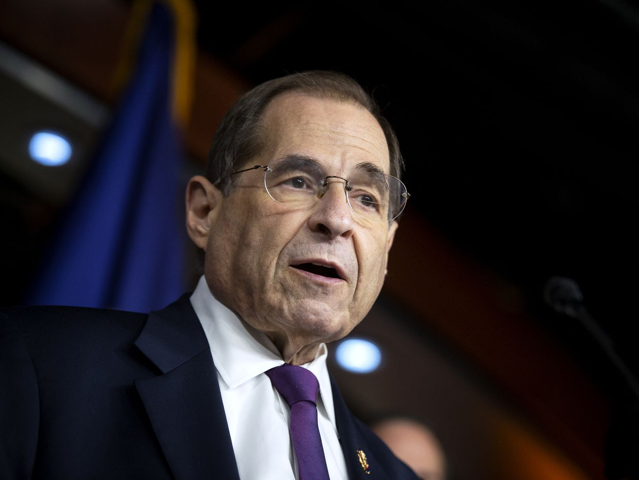 House Judiciary Committee Chairman Jerrold Nadler, D-N.Y., and Democratic members of the House Judiciary Committee, speak to reporters about the testimony from former special counsel Robert Mueller and their plan to continue to investigate President Donal
