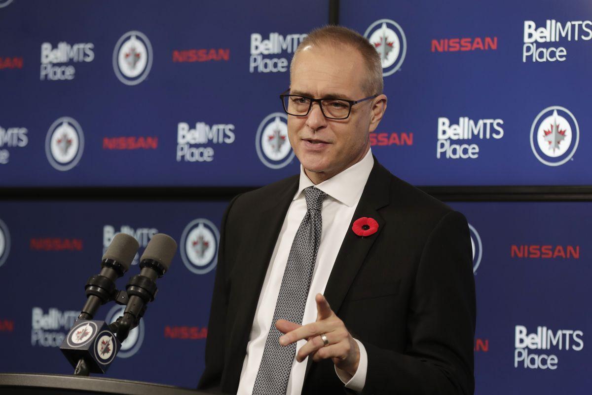 NHL: Vancouver Canucks at Winnipeg Jets