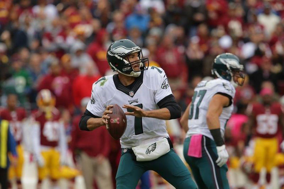 Eagles QB Sam Bradford vs Washington Week 4