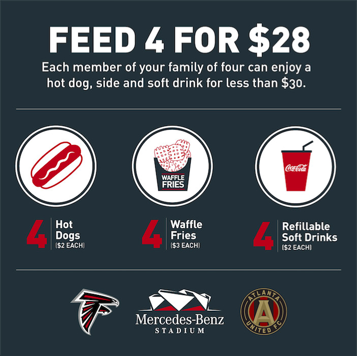 Food And Drink At Mercedes-Benz Stadium Will Actually Be
