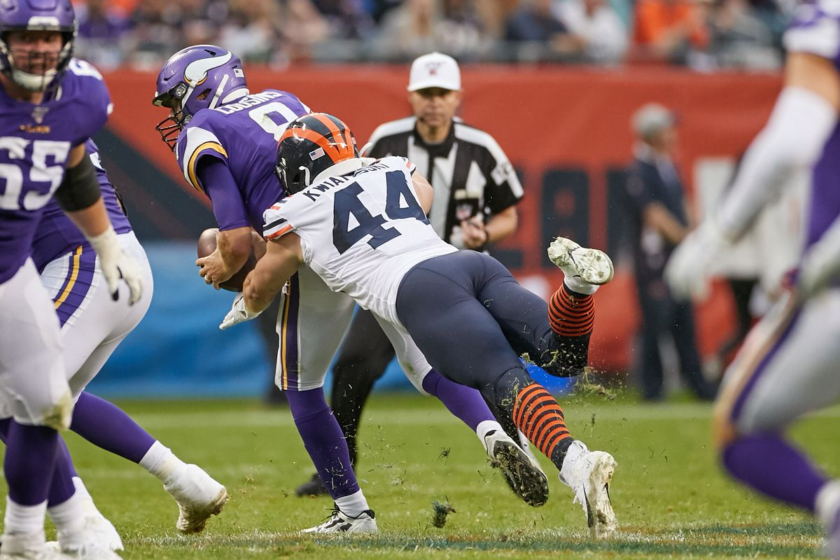 NFL: SEP 29 Vikings at Bears