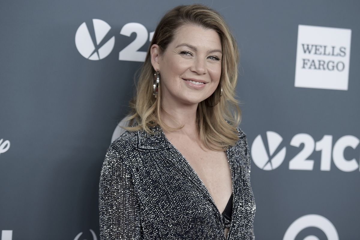 """Ellen Pompeo attends the 2018 GLSEN Respect Awards at the Beverly Wilshire Hotel on Friday, Oct. 19, 2018, in Beverly Hills, California,. Pompeo was on Jemele Hill's podcast this week, discussing why she's stayed with the TV show """"Grey's Anatomy"""" since its 2005 debut."""