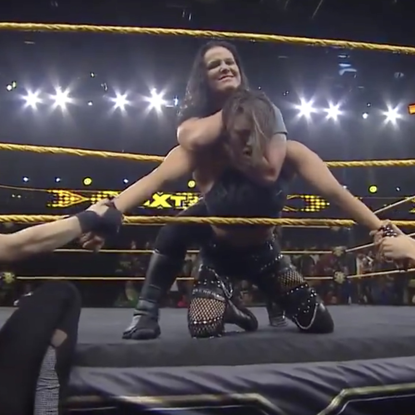 Rhea Ripley Gets Choked Out And A Title Match Cageside Seats