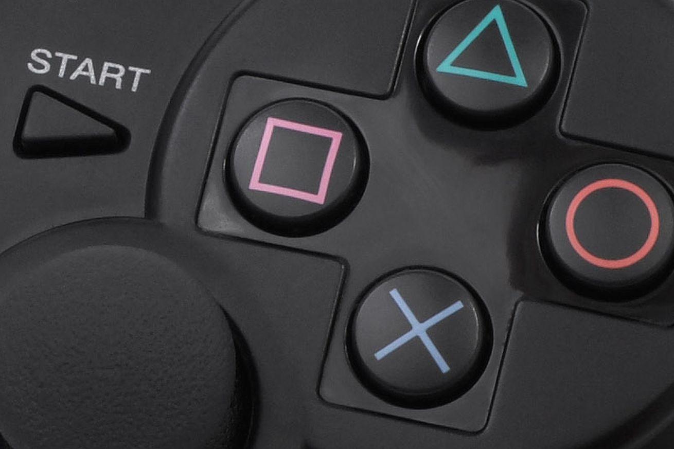 PS3 dualshock controller close-up