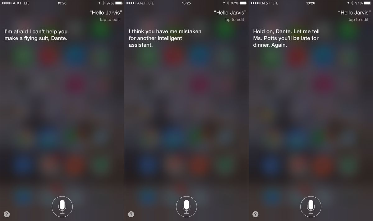 Software that helps power Siri is named after Iron Man's AI