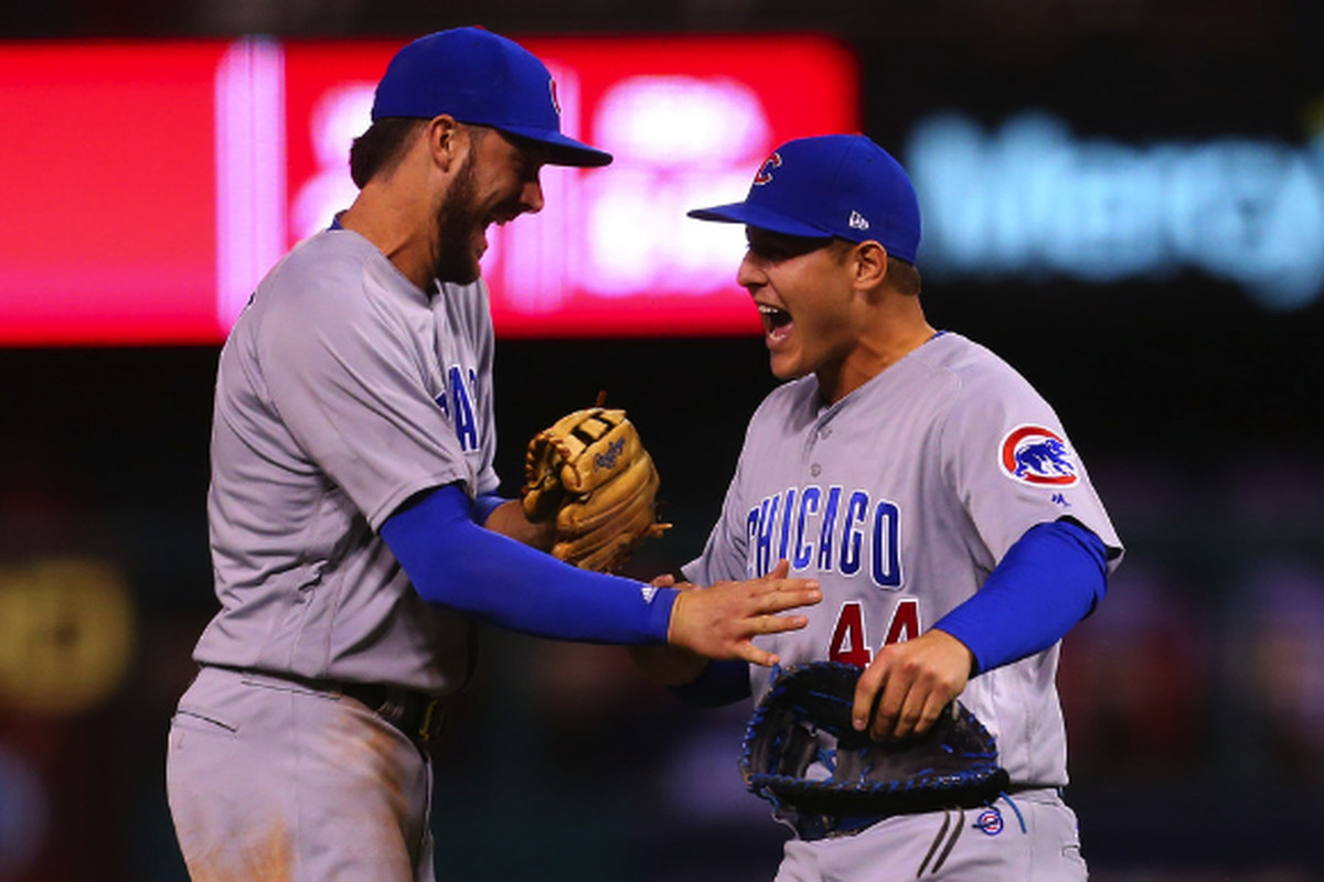 049c952ea90 Kris Bryant and Anthony Rizzo agreed that playing baseball without the  scrutiny of social media would be more fun. Getty Images