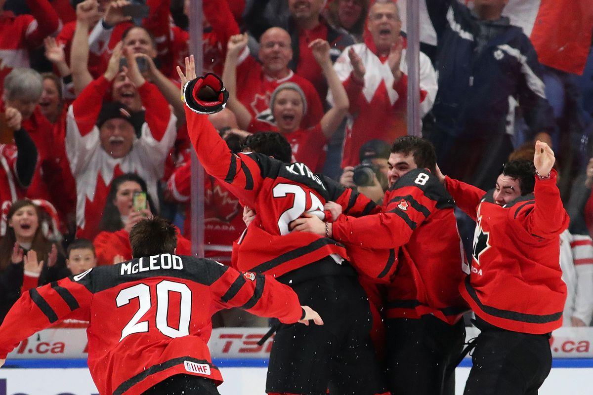 2019 World Juniors Canada Vs Russia Lineups Start Time Eyes