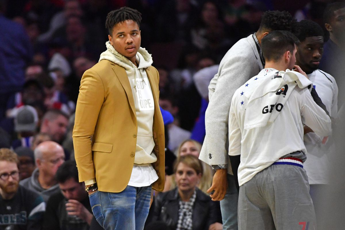 Eric Hartline-USA TODAY Sports. Trade rumors have been swirling around  Markelle Fultz ... 2d6393fc4