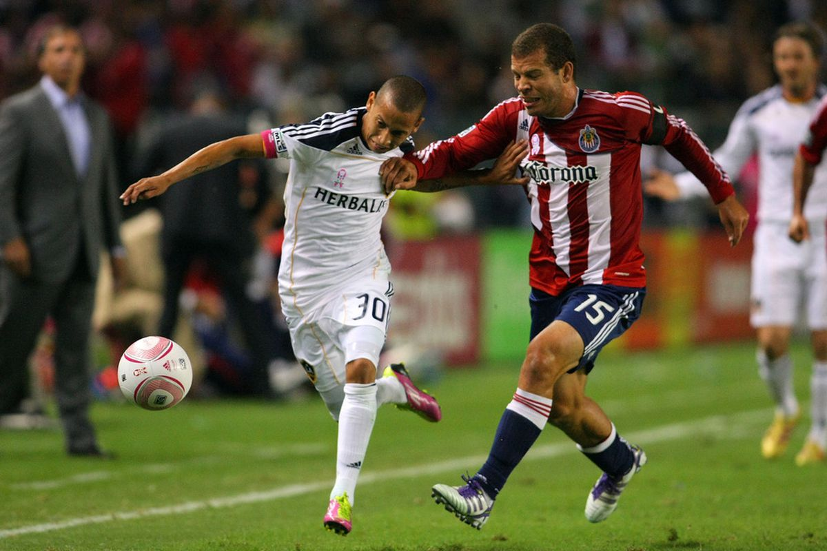 CARSON, CA - OCTOBER 16: Cardozo joins Moreno as a member of Chivas USA  (Photo by Victor Decolongon/Getty Images)
