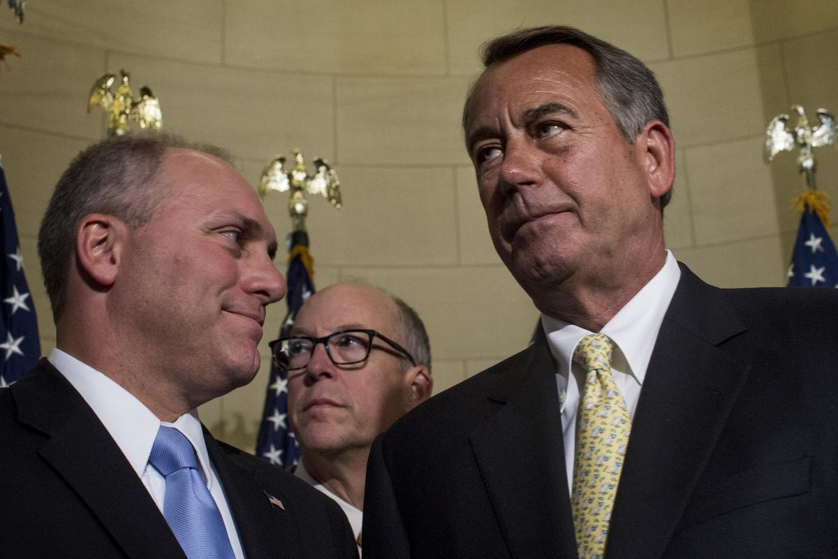 House Republicans want unauthorized immigrants to feel John Boehner peering over their shoulders.