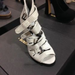 Classic Buckle Sandals, $140