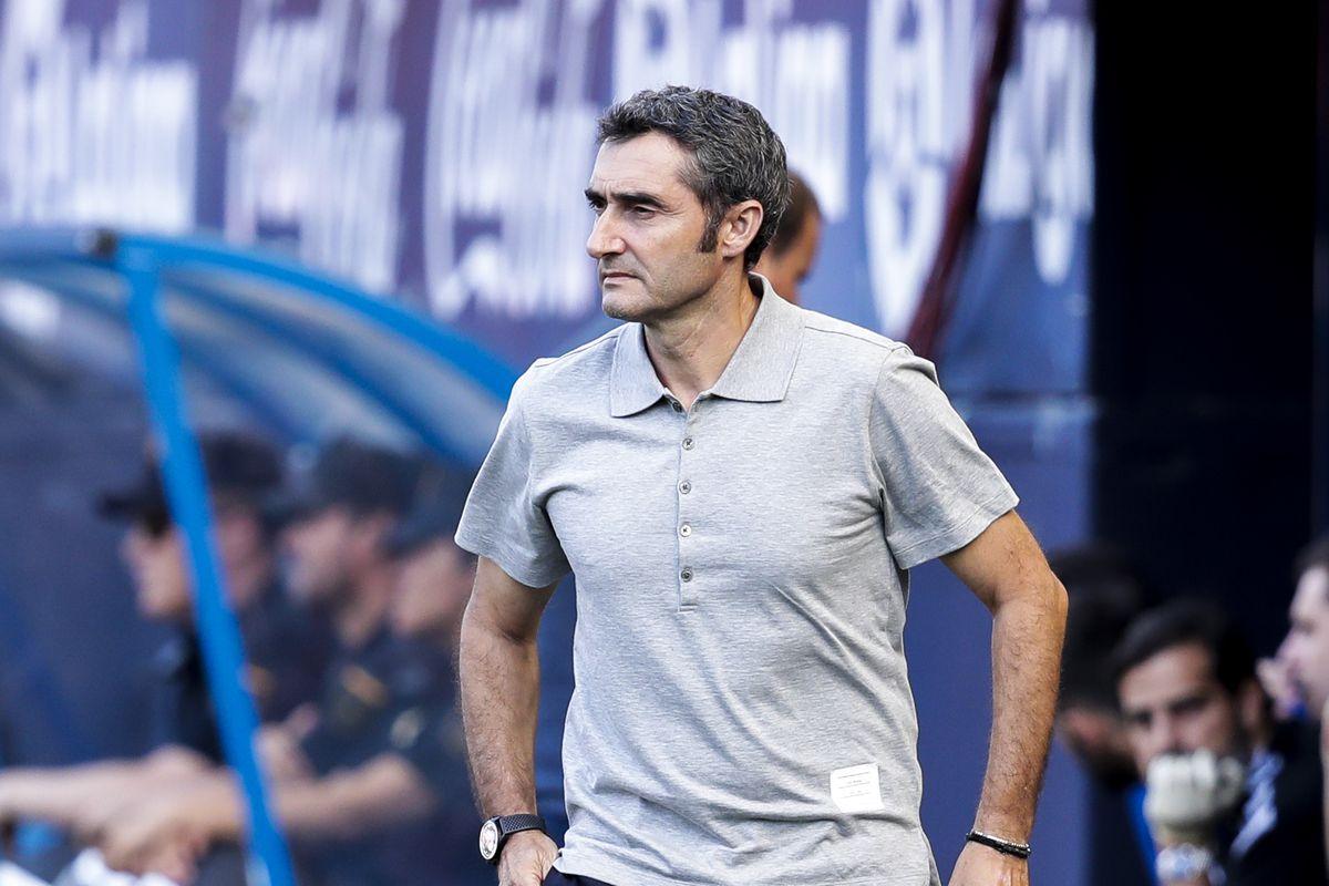 Ernesto Valverde talks Lionel Messi, Ansu Fati and Ousmane Dembele ahead of Granada