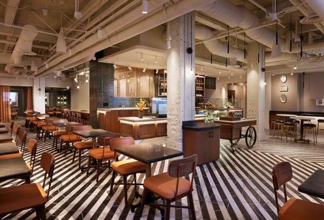The Clift Royal Sonesta Hotel's new breakfast and lunch restaurantFredericks opens Aug. 4.