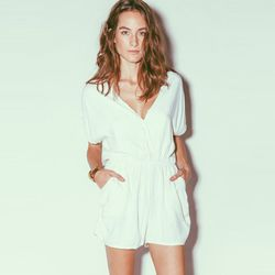 """Cleobella Phoebe playsuit in Ivory, $152 at <a href=""""http://shop.cleobella.com/collections/playsuits/products/phoebe-playsuit-ivory#.U0WleuZdWUc"""">Cleobella</a>"""