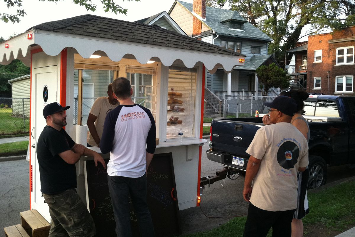 Dilla's Delights unveiled a new food cart on July 10.