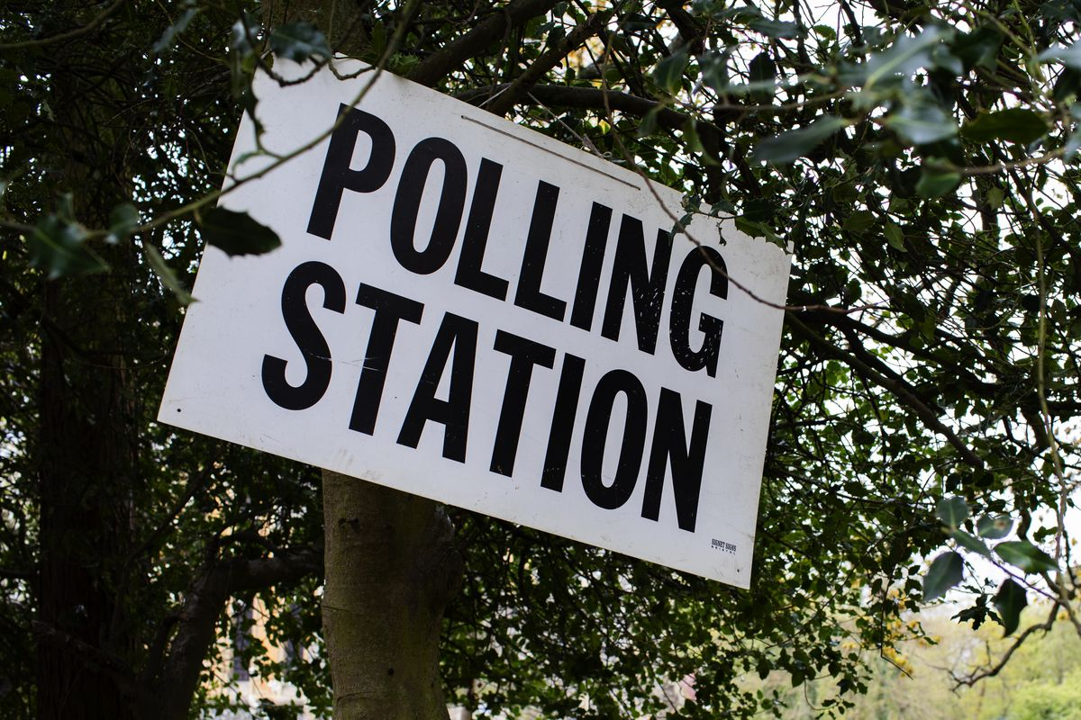Voters Go To The Polls In England's Local Elections