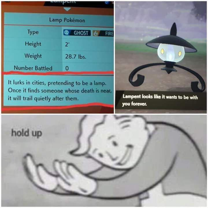 Lampent is a total creep