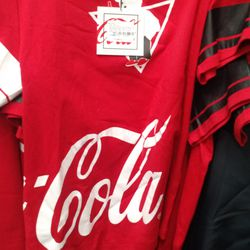 Coca Cola tee shirt, $25