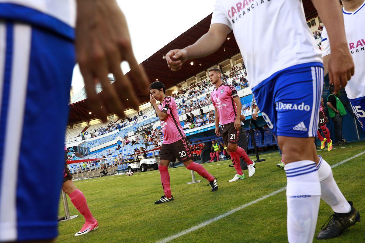 Real Zaragoza v CD Tenerife - La Liga 2