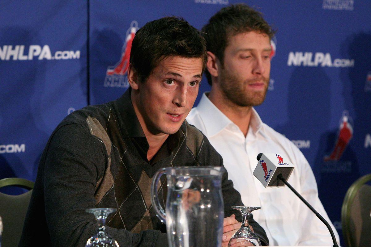 NHLPA Press Conference