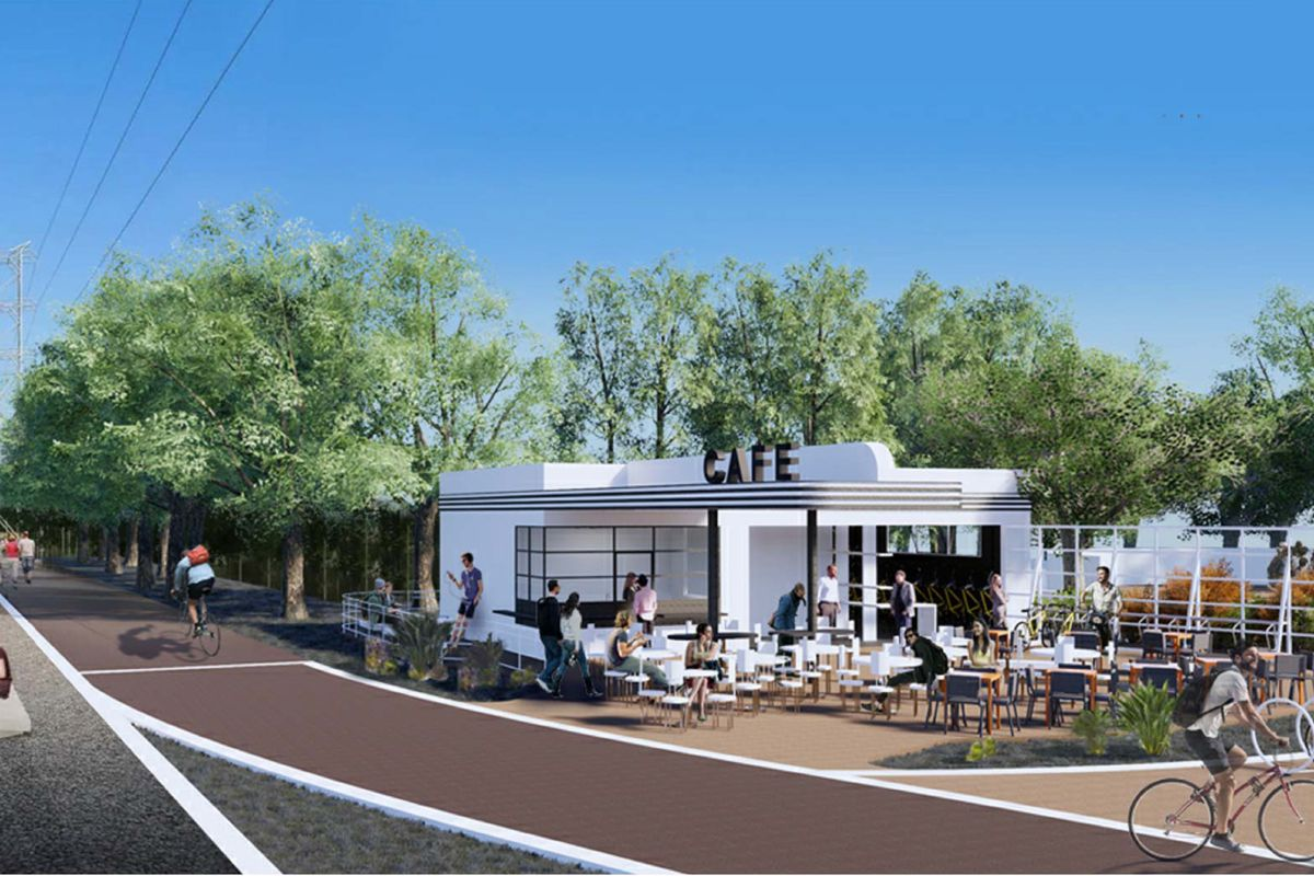 Silver Lake Texaco Station To Be Relocated Repurposed As Snack Shack Along La River Curbed La