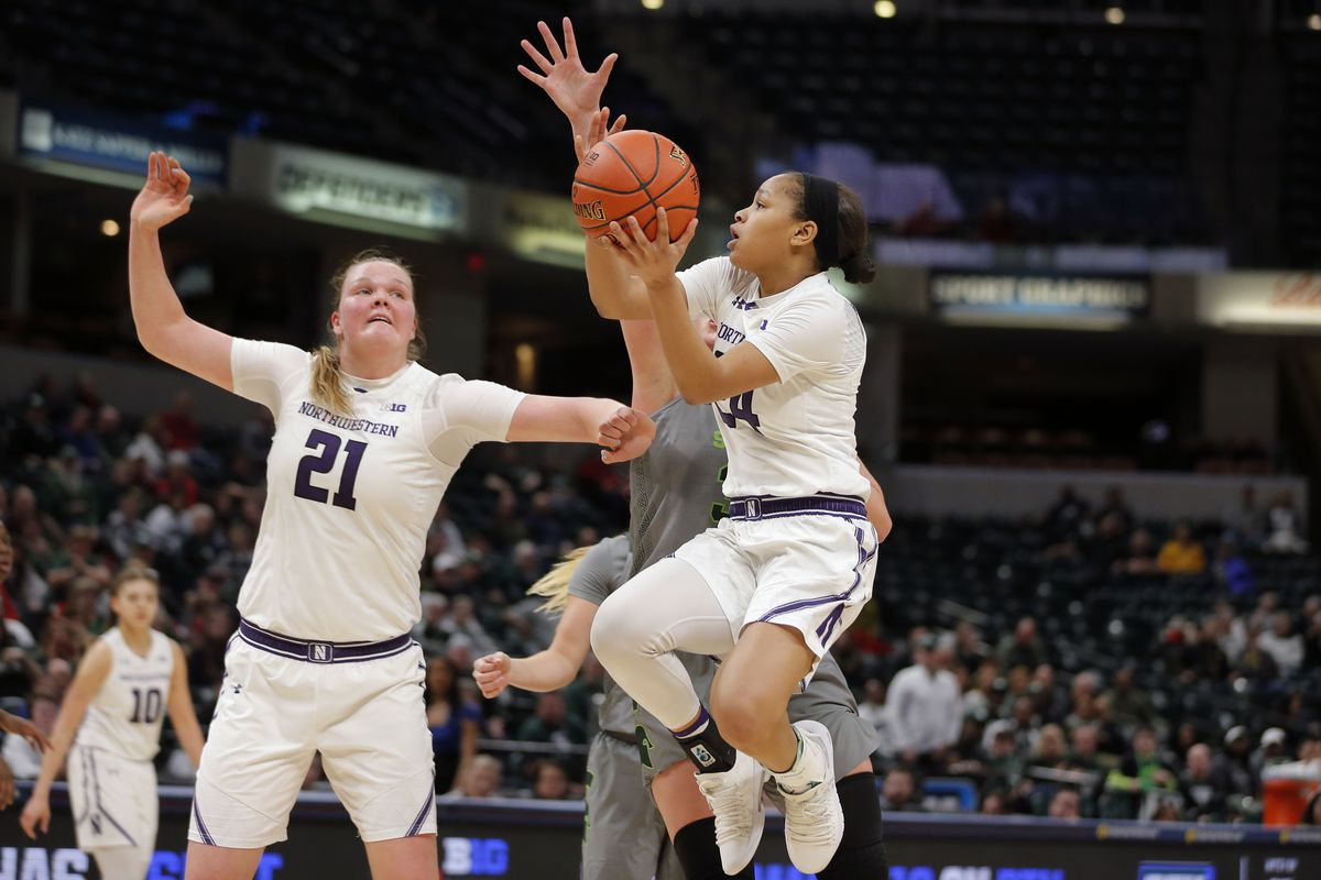COLLEGE BASKETBALL: MAR 07 Big Ten Conference Women's Tournament - Michigan State v Northwestern