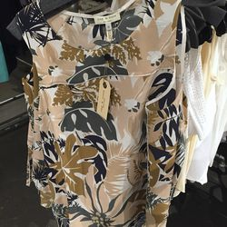 Spruce combo Patricia top, $100