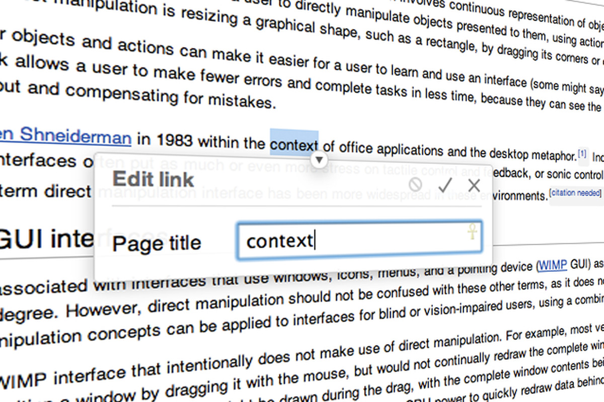 Wikimedia Foundation previews simplified visual editor - The