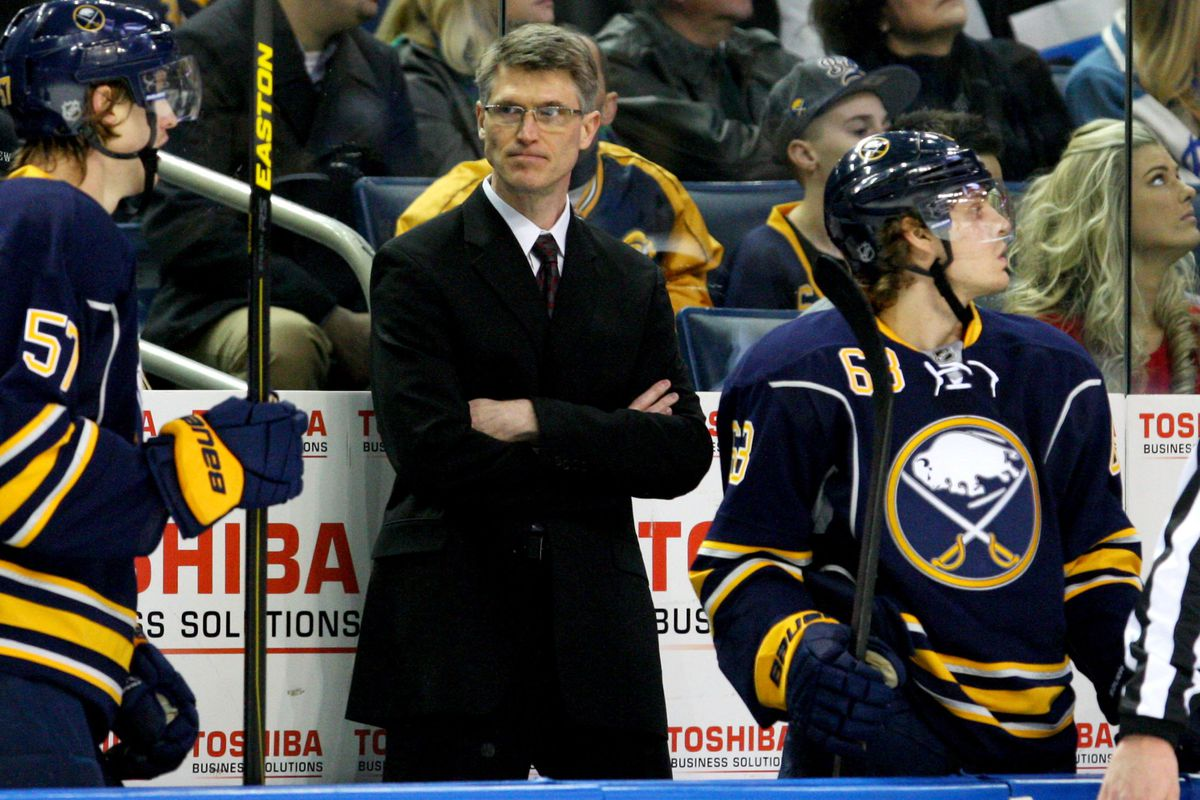 Former Buffalo Sabres coach Ron Rolston has applied for the head coaching vacancy at Princeton.
